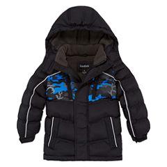 Reebok Heavyweight Puffer Jacket - Boys-Preschool