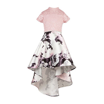 Short Sleeve Pink Dresses For Kids Jcpenney