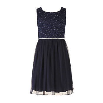 Speechless Girls Embellished Sleeveless A-Line Dress