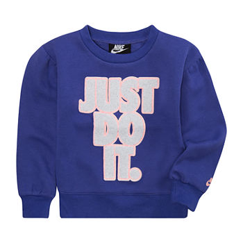 Nike Toddler Girls Long Sleeve Sweatshirt