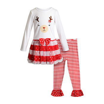 Youngland Toddler Girls 2-pc. Dress Set