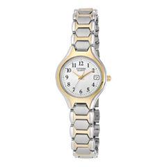 Citizen® Womens Two-Tone Stainless Steel Bracelet Watch EU2254-51A