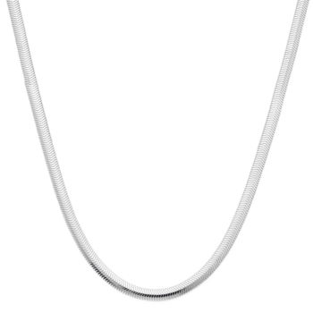 PRIVATE BRAND FINE JEWELRY Made in Italy Sterling Silver 24 3.75mm Rope Chain 4uxV8