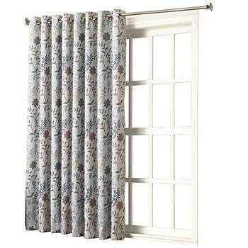 Room Darkening Patio Door Curtains Energy Efficient Blackout For Window Jcpenney