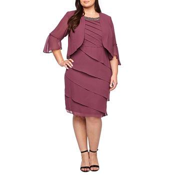 Plus Size Purple Church Dresses For Women Jcpenney