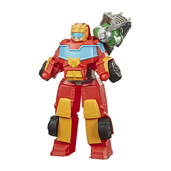 Playskool Heros Academy Power Hot Shot Transformers