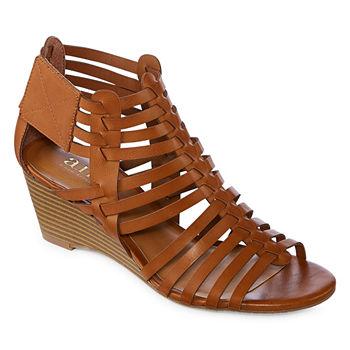 97262f4d7e38 High Beige Women s Sandals   Flip Flops for Shoes - JCPenney