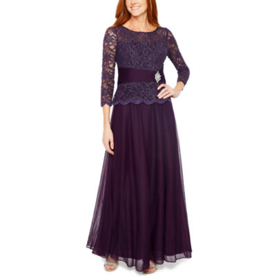 Mother Of The Groom 3 4 Sleeve Summer Dress