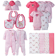 Gerber® 19 Piece Baby Girl Flowers Layette Gift Set