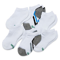 Hanes Xtemp 6 PK Low Cut Socks - Boys