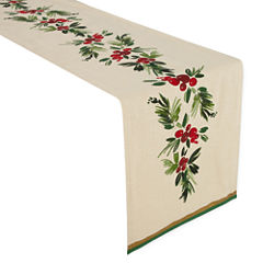 JCPenney Home Festive Sprig Table Runner