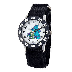 Disney Sulley & Mike Monsters University Kids Time Teacher Black Strap Watch