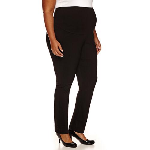 Maternity Millennium Overbelly Straight-Leg Pants - Plus