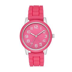Womens Pink Strap Watch-Fmdjo106