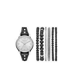 Arizona Womens Black 7-pc. Watch Boxed Set-Fmdarz158