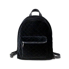 Velvet Quilted Backp Backpack