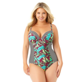 juniors plus size swimsuits & cover-ups for women - jcpenney
