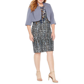Plus Size Embellished Church Dresses For Women Jcpenney