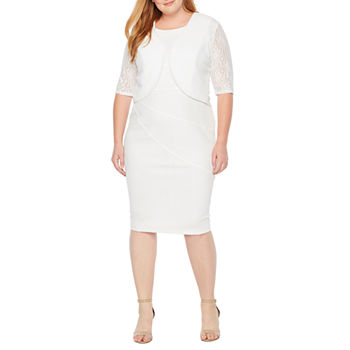Plus Size White Dresses For Women Jcpenney