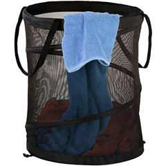 Honey-Can-Do® Medium Mesh Pop-Open Hamper