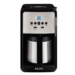 Krups®, Savoy, ET351050, Programmable Thermal Filter Coffee Machine, Black