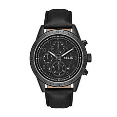 Relic Mens Black Strap Watch-Zr15938