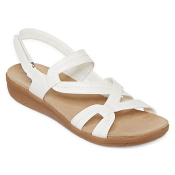 ff311c9f6f01 Yuu White Women s Sandals   Flip Flops for Shoes - JCPenney