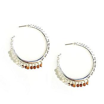 Arizona Gray 41 3mm Hoop Earrings