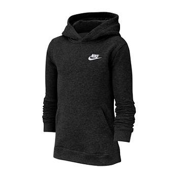 kup tanio Darmowa dostawa gorąca wyprzedaż Nike Cotton Fleece Boys Hoodie-Big Kid
