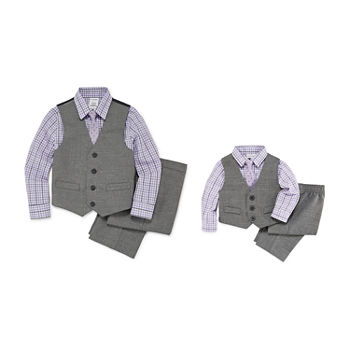 Van Heusen Brother & Me 4-pc. Suit Set