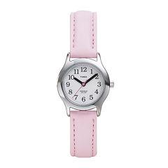 Timex® My First Timex Easy Reader Kids Pink Strap Watch T790819J
