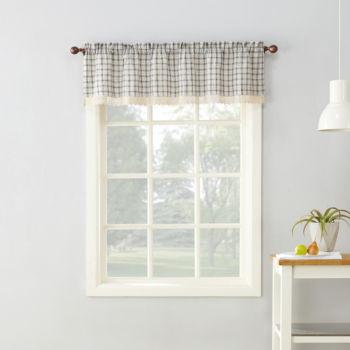 Plaid Kitchen Curtains | Plaid Kitchen Curtains For Window Jcpenney