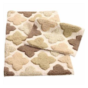 3 piece bathroom rug set - shop jcpenney, save & enjoy free shipping