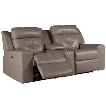 Enjoyable Motion Possibilities Grove Loveseat With Console Creativecarmelina Interior Chair Design Creativecarmelinacom
