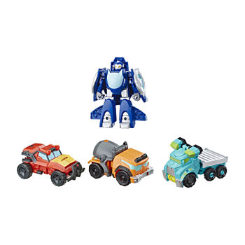 Playskool Heros Academy Rescue Team Transformers