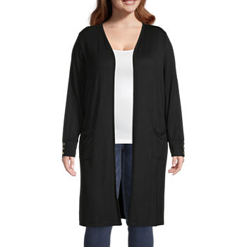 Liz Claiborne Duster Cardigan - Plus