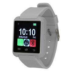 Olivia Pratt Womens Gray Smart Watch-8183grey