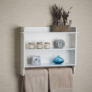 Bathroom Shelves Bath Storage For The Home - JCPenney