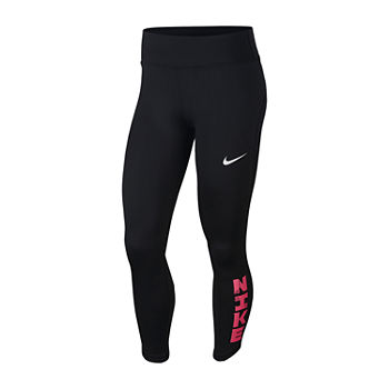 Nike Womens Mid Rise Full Length Leggings