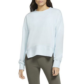 Nike Womens Plus Crew Neck Long Sleeve Sweatshirt