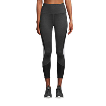Xersion Train Womens High Rise 7/8 Ankle Leggings Plus