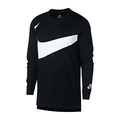 Nike Long Sleeve Exploded Swoosh Graphic Tee