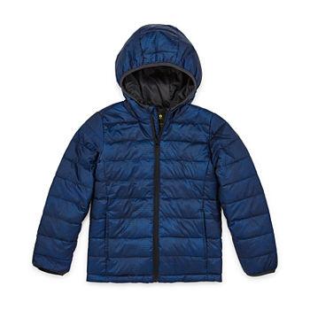 Xersion Boys Lightweight Puffer Jacket Preschool Big Kid