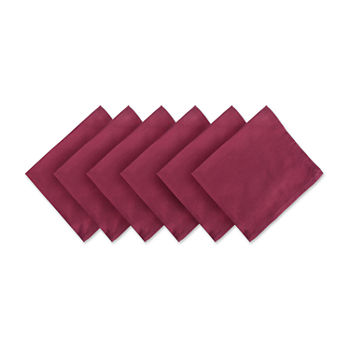 Design Imports Cotton 6-pc. Napkins