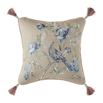 Croscill Classics Fleur Square Throw Pillow