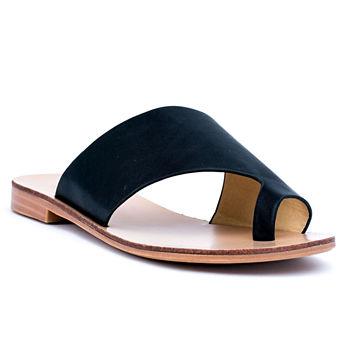 56086487d99d Casual Black Women s Sandals   Flip Flops for Shoes - JCPenney