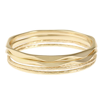 Monet Jewelry Gold Tone Bangle Bracelet