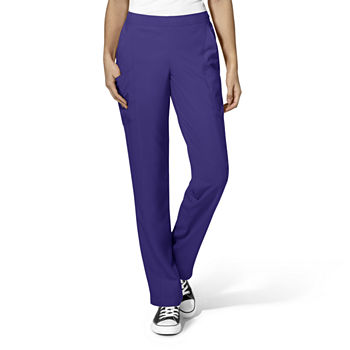 W123 by WonderWink® 5155 - Women's Full Elastic Flat Front Pant - Tall & Tall Plus