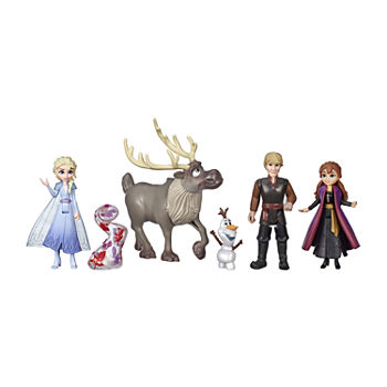 Hasbro Disney Frozen Adventure Collection, 5 Small Dolls From Frozen 2