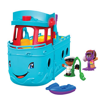 Fisher-Price Little People Travel Together Friend Ship Playset